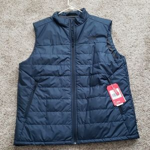 Men's The North Face Bombay Puffer Vest XL Navy